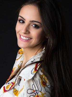Giovanna Curi é modelo fotográfica há anos (Foto: Helena Alba )