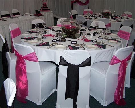 Wedding Themes   Wedding Style: Pink and Black Wedding