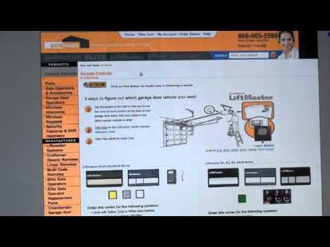 how to program linear garage door opener to car