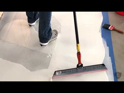 Polyaspartic Epoxy Floor | 720 Sq. Ft. Project!
