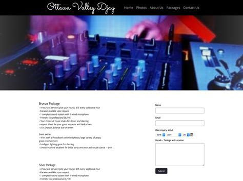 How to Build a Wedding DJ Website