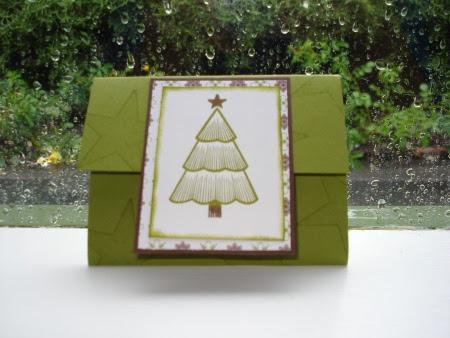 Workshop gift card holder