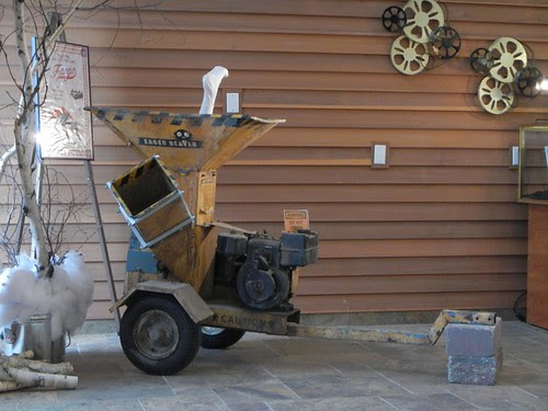 Woodchipper in Fargo Visitor Center