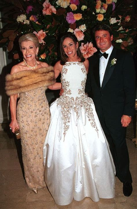 always thought Melissa Rivers wedding dress was gorgeous