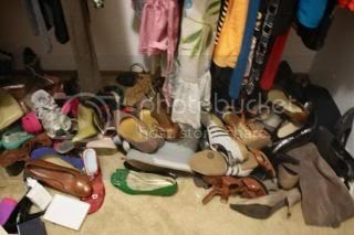 Friday Fixation: News Shoes & Organizing my old ones