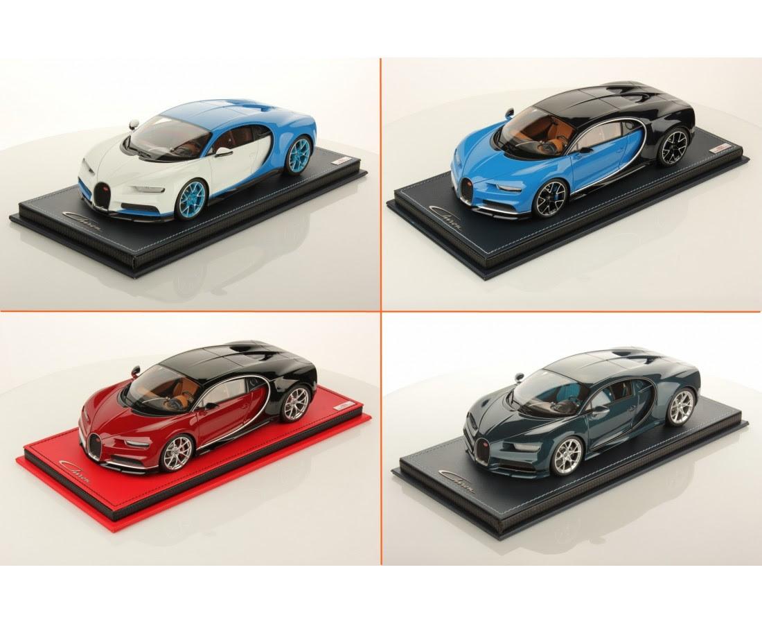 Bugatti Chiron Different Colors By Mr