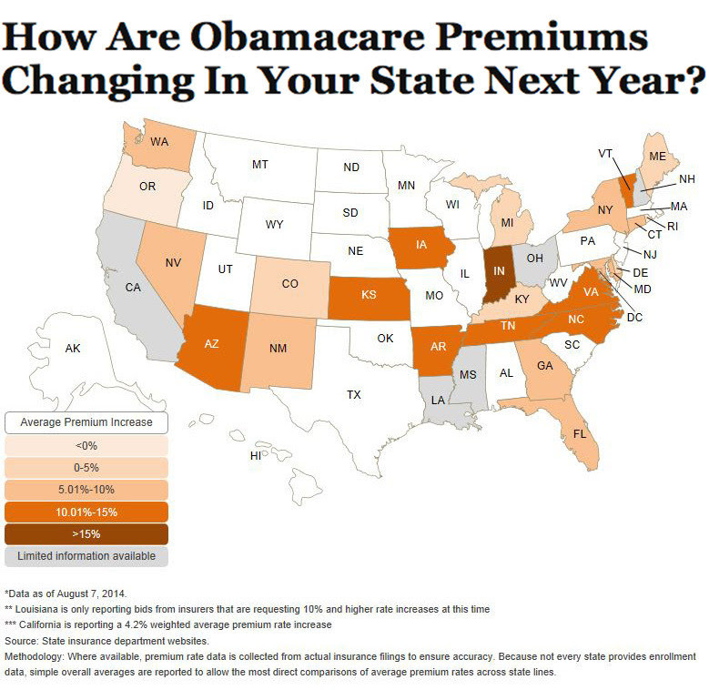 Here's What's Going On With Obamacare Premium Increases ...