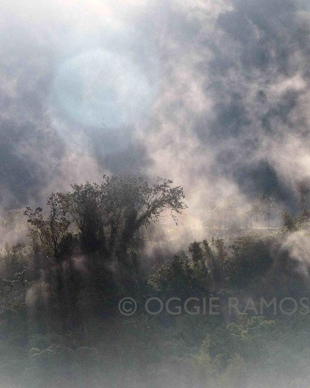 Kalinga - Tinglayan Sleeping Beauty Waking Up in the Foggy Morning Portrait