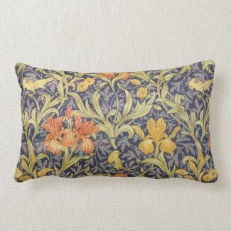 Iris by William Morris Pillows