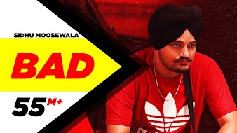 Bad song lyrics - sidhu moosewala in hindi