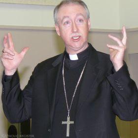 CCCB president Archbishop Richard Smith of Edmonton
