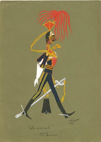 military soldier from lancers caricature)