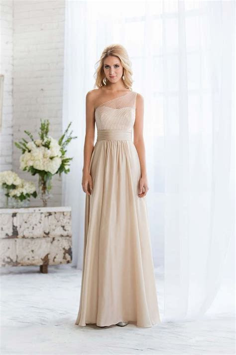 25  best ideas about Champagne bridesmaid dresses on