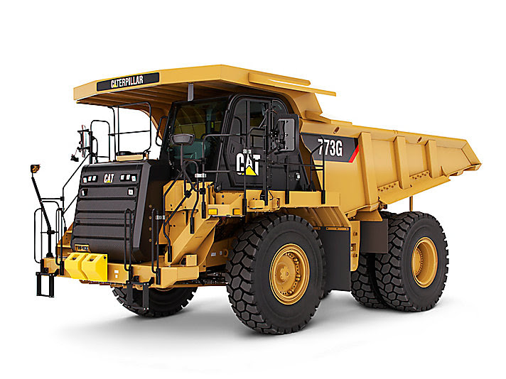Cat 773G f Highway Truck