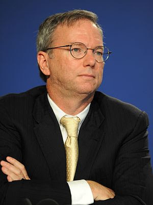 English: Eric Schmidt, Executive Chairman of G...