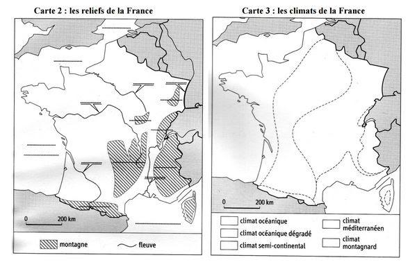 25 Meilleur Carte De France Vierge Cm1