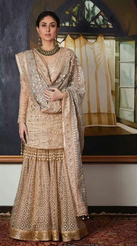 A beautiful nude color garara set you can opt it for your