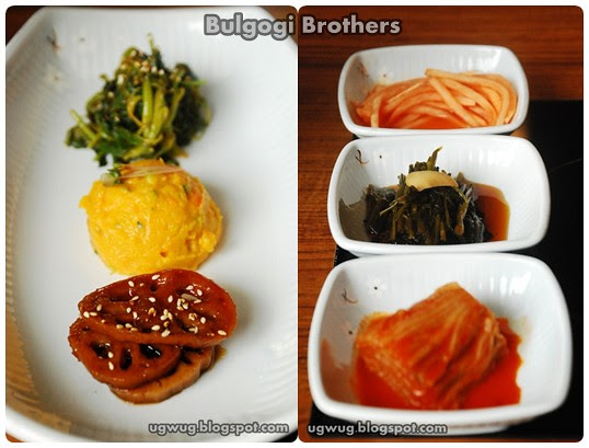 Banchan - side dishes