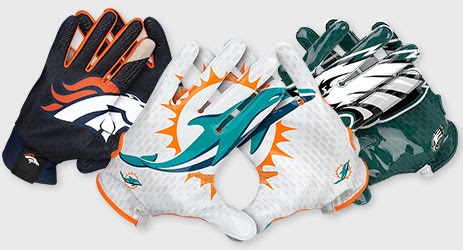 NFL Nike Gloves, Receiver Gloves, Vapor Jet Football Gloves at NFLShop.com