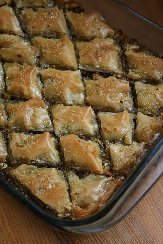Baklawa à la pistache Passion culinaire Minouchka 2