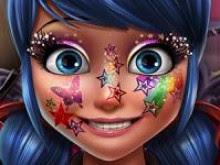 Uğur Böceği Yüz Makyajı Oyunu