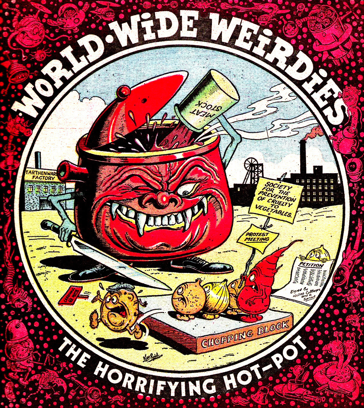 Ken Reid - World Wide Weirdies 57