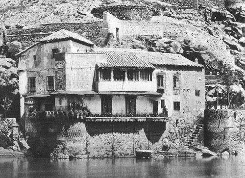 Casa del diamantista hacia 1887. Foto de Casiano Alguacil