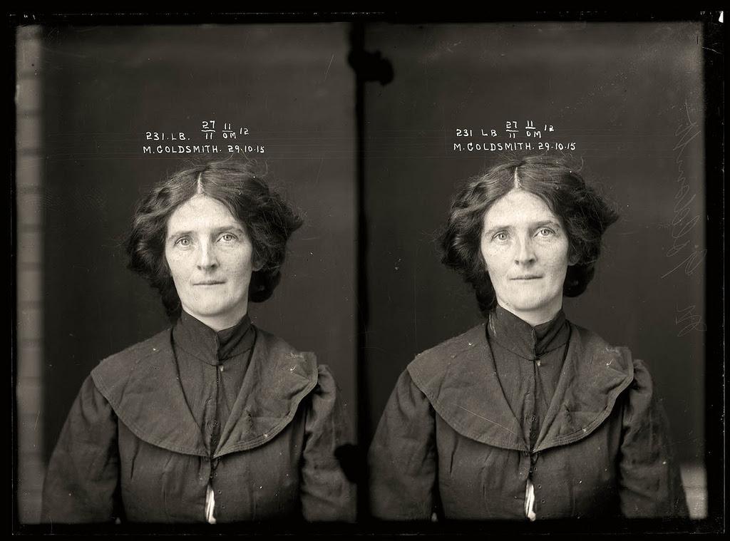 photo police sydney australie mugshot 1920 30 Portraits de criminels australiens dans les années 1920  photo photographie histoire featured art