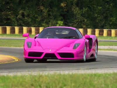 Pink Ferrari Enzo
