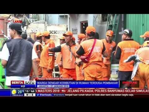 Gara-gara Rebutan Warisan, 200 Rumah Warga Krukut Hangus Terbakar