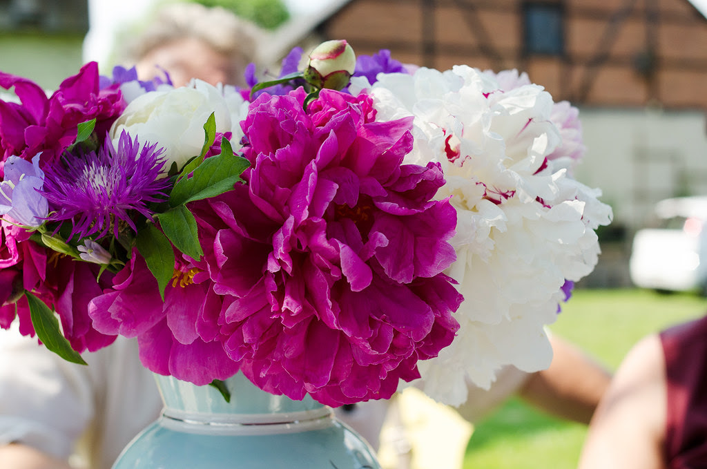 #2flowergirls in June (Peonies) and a 60s wedding anniversary