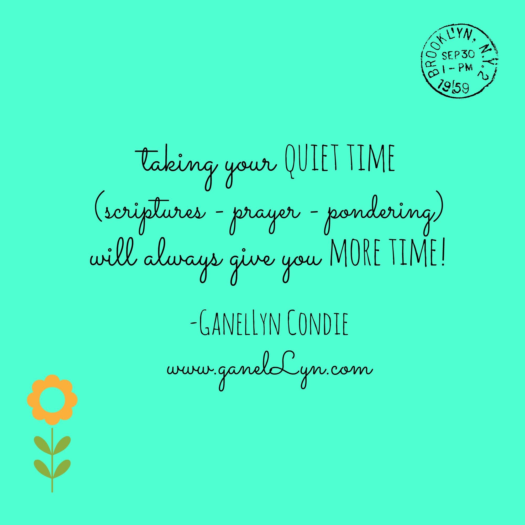 Quiet Time Quotes. QuotesGram