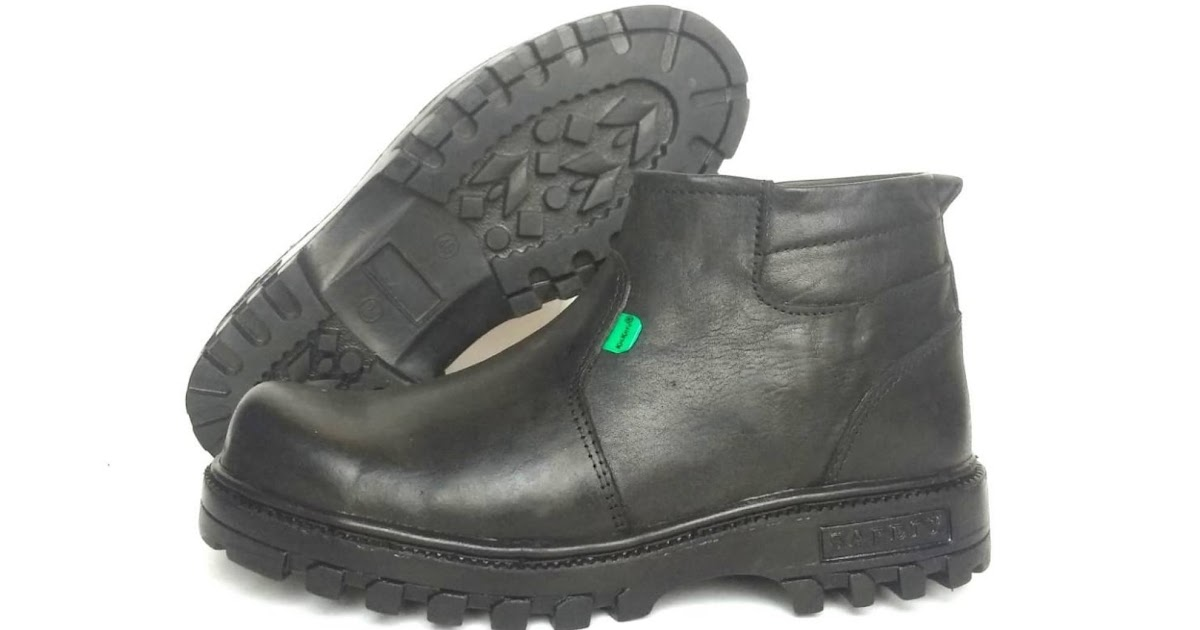 MURAH Sepatu Boots Pria Kickers X Men Safety Kulit Asli Ujung Besi 98831b0509