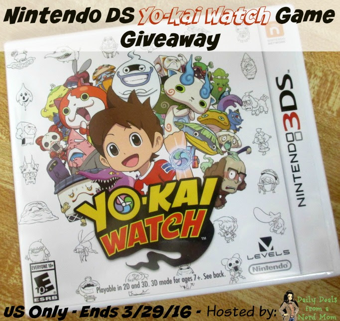yo-kai watch giveaway