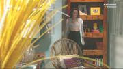 Daniela Melchior sensual na novela A Herdeira