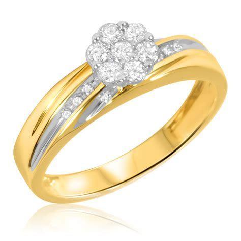 1/4 Carat T.W. Diamond Ladies' Engagement Ring 10K Yellow