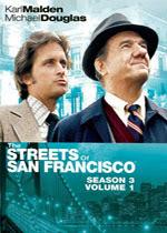 The Streets of San Francisco: Season Three (V1), a Telemystery Crime Series