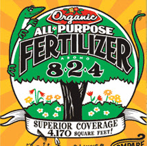 Lady Bug Brand All Purpose Fertilizer 8-2-4
