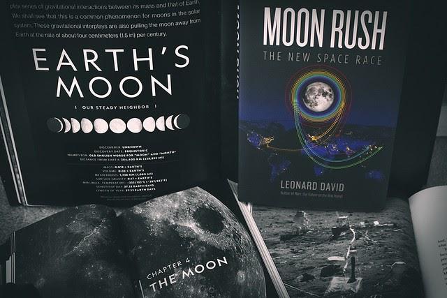 { Moon Rush by Leonard David - TLC Book Tour }