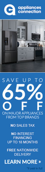 Save Up to 65% Off Top Branded Appliances