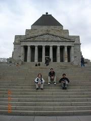 Australia-New Zealand Army Corps (ANZAC) Monument, Melbourne, Australia