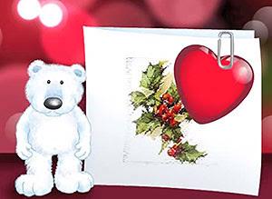 Tarjetas Y Postales Romanticas De Feliz Navidad Gratis Imagenes