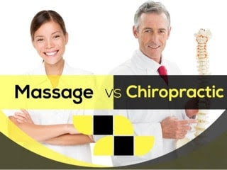 The Difference Between Chiropractic and Massage Therapy