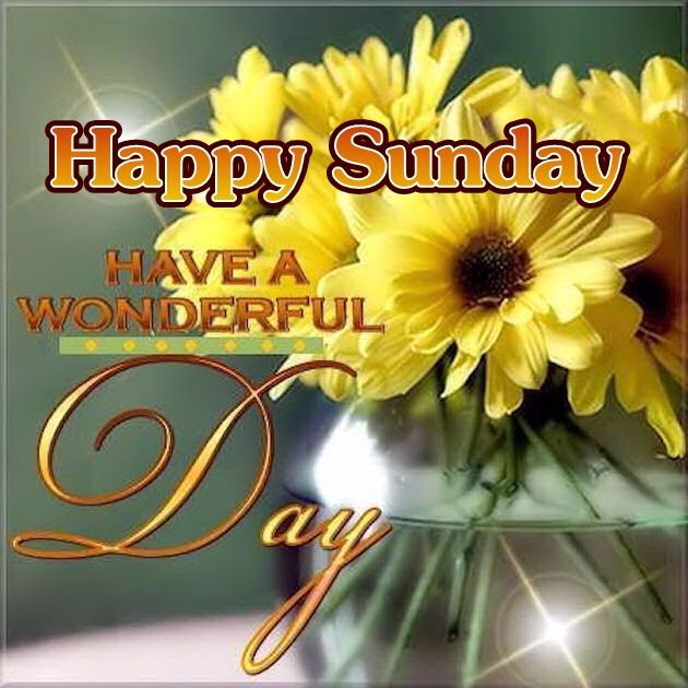 Happy Sunday Have A Wonderful Day Pictures Photos And Images For