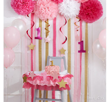 1st Birthday Girl Decorations Ideas Decoration For Home