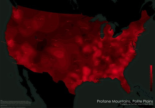 Mapping Profanity on Twitter