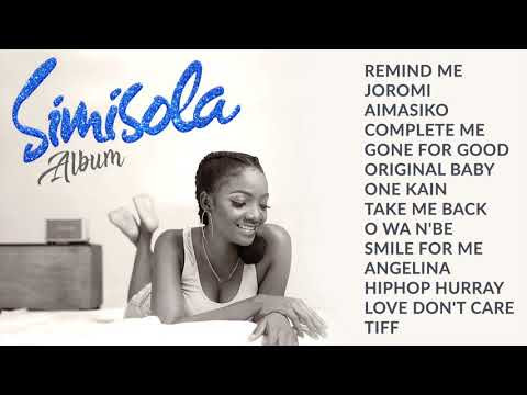 (Video)-Simisola Full Album On A Display