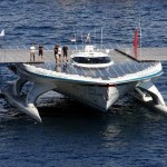 PlanetSolar The World_s Largest Solar Powered Boat Docks in Hong Kong 2
