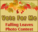 Vote for me at the Falling Leaves Quilt Show Photo Contest