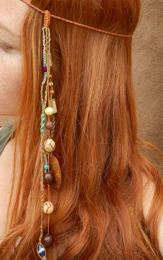 Hippie Headband, had to pin because my kids think we used to be hippies. lol